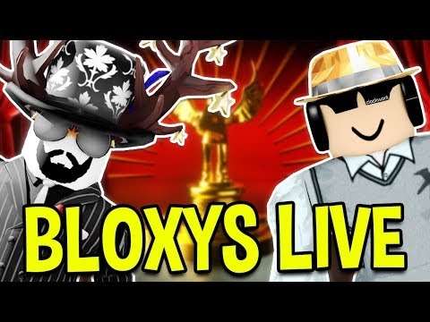 ROBLOX 5TH ANNUAL BLOXY AWARDS LIVE! 🔴 Jailbreak! Jailbreak! (Roblox Bloxys)