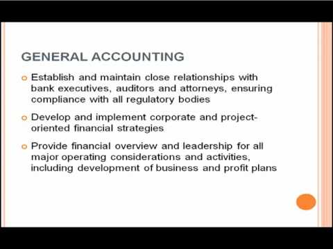 Accounting Sample Job Description | www.onejbocentral.com - YouTube