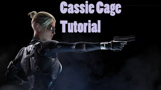 HOW TO PLAY CASSIE CAGE: BEGINNER'S TUTORIAL      WITH MOVE SET, VARIATIONS, AND COMBOS