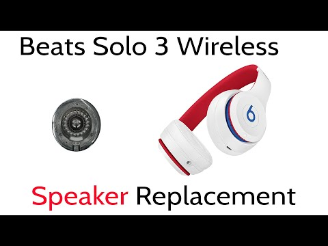 tutorial-how-to-repair-replace-beats-solo-3-wireless-right-side-blown-speaker-disassembly