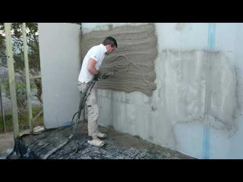 WA Sand Cement Successful Spray - Lancy PH9 Render Pump