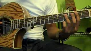 I Will Run - Freddy Rodriguez - Guitar Tutorial