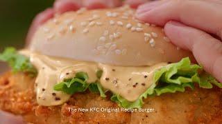 KFC Original Recipe Burger – A signature taste to remember.