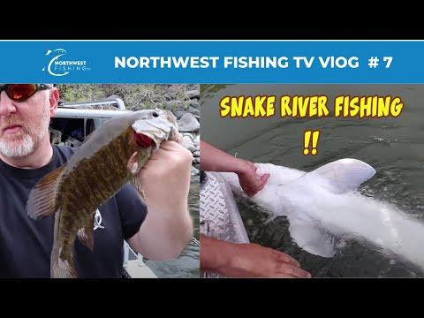 Snake River Smallmouth Bass Fishing In Idaho | VLOG0007