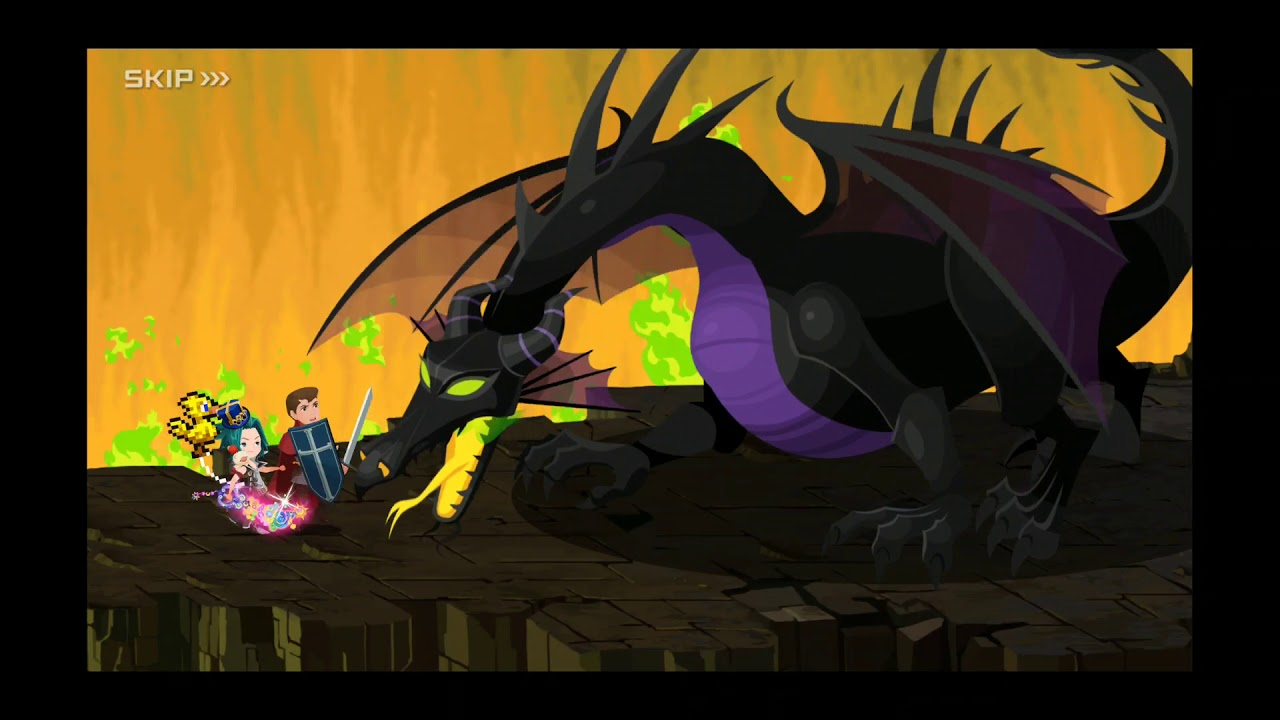 Spoilers Story Quest 815 Fighting Maleficent Dragon