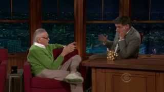 Stan Lee at The Late Late Show