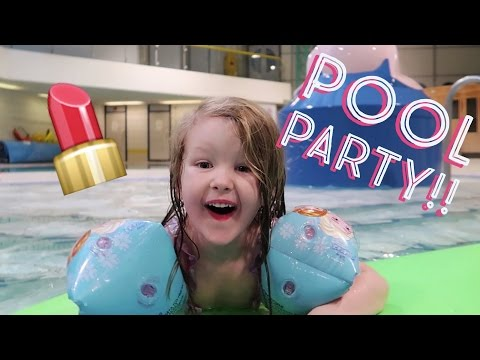 SHOPKINS POOL PARTY!! + DONATING AT CHRISTMAS