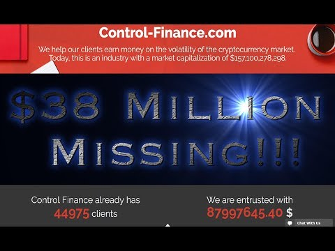 Control Finance - BEWARE!!! Millions Already Missing!!!