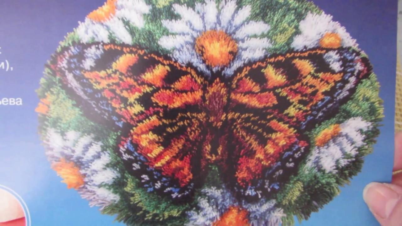 Бабочки вышивка панна