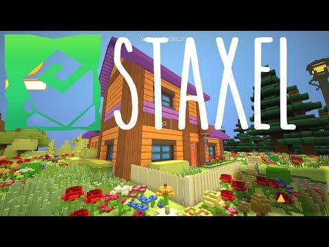 Staxel - MINECRAFT meets STARDEW VALLEY 3D - Staxel Gameplay - Episode 1