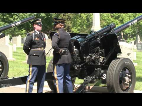 Cannons at Arlington National Cemetery