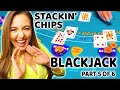 STACKIN' CHIPS W/ LADY LUCK HQ playing BLACKJACK at the HARDROCK CASINO in TAMPA!
