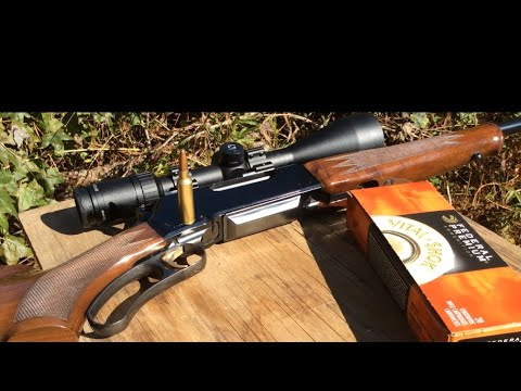 BLR Browning take down, Lever action rifle 300 Winchester short mag, Great long-range hunting rifle