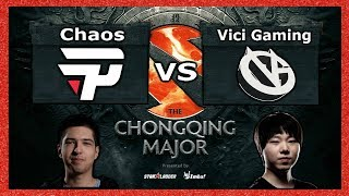 Chaos esports vs Vici Gaming ► Español Chongqing Major