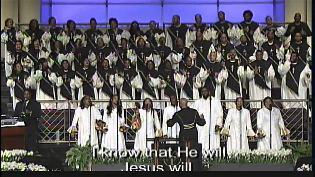 """Jesus Will"" Young Adult Choir - YouTube"