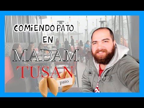 COMIENDO PATO EN MADAM TUSAN
