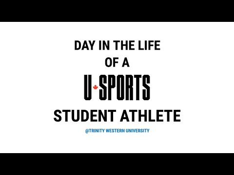DAY IN THE LIFE OF A CANADIAN USPORTS ATHLETE
