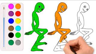 Drawing Alien Dance 2018 - Dame tu Cosita