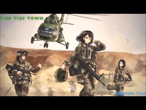 「Nightcore」↭  Run this town (Battlefield 4) ღ