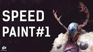 Video Tutorial №1 - Fantasy Warrior | Plarium Speed Paint