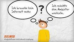 Gregor kündigt seinen Kabel Deutschland Internetvertrag