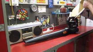 Worx Blower unboxing