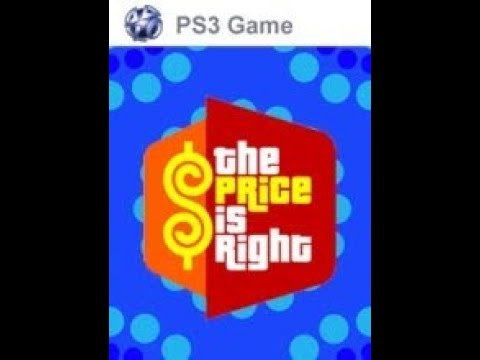 PS3 The Price is Right ORIGINAL RUN Game #1