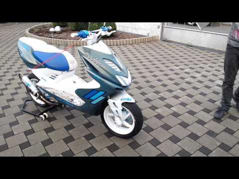 Verkaufs Video Yamaha Aerox(BlueWhiteFlipFLopRox)
