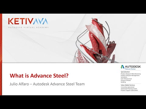 Autodesk Virtual Academy: What is Advance Steel?