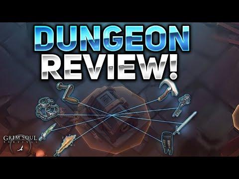 DUNGEON REVIEW! NEW 1.1.0 UPDATE! - Grim Soul Dark Fantasy Survival