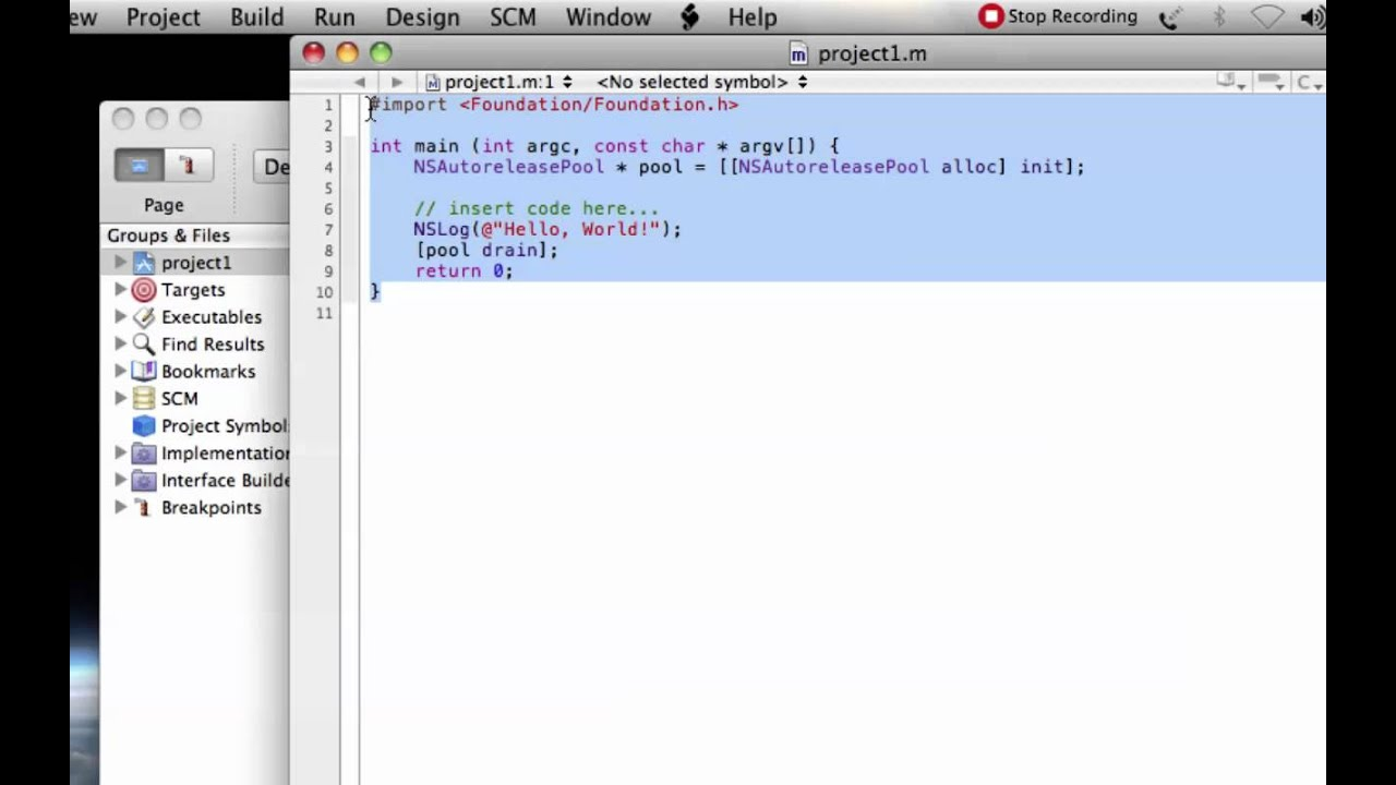 Write c programm in xcode for mac youtube write c programm in xcode for mac biocorpaavc Gallery