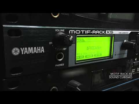 Synth Module (7) - Yamaha Motif Rack XS part 2 : Electric Piano Sound