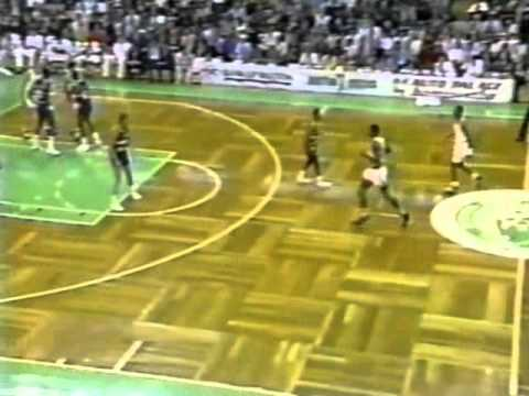 Michael Adams (31pts/17asts/4stls) vs. Celtics (1990)