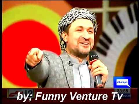 Rahim Shah singing! funny and emotional.....