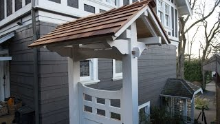How To Build A Garden Gate Pt 2