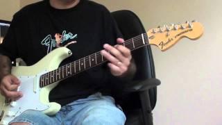 Ritchie Blackmore Set-neck Stratocaster Demo