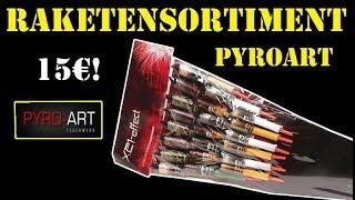 PYROART - X21 Effect I großes Raketensortiment für 14-15€ [FullHD] ...