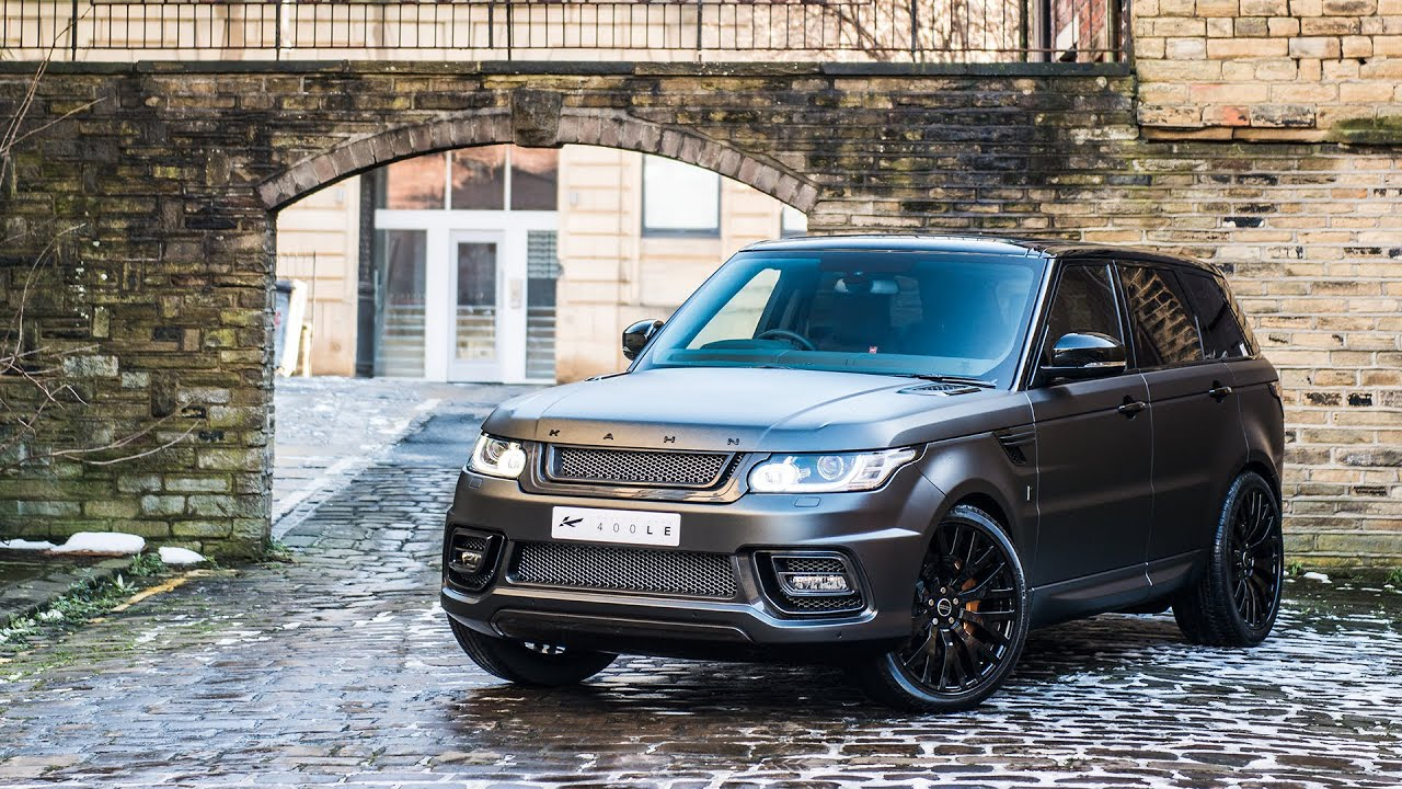 Range Rover Svr >> Kahn TV: The Range Rover Sport 400-LE Luxury Edition by ...