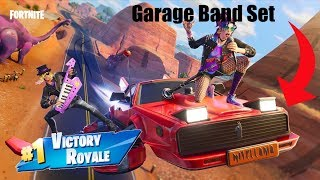 New Garage Band Gear! / 100+ Wins *Decent Fortnite Player* / Open Lobbies / V-Buck Giveaway At 2k!
