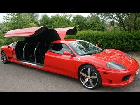 Exotic Wedding Limos Including A Ferrari Limousine!