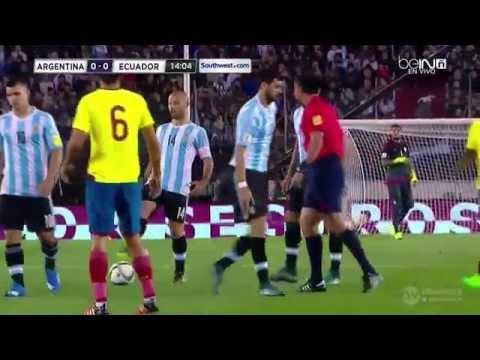 Argentina VS Ecuador   PRIMER TIEMPO   Eliminatorias a Rusia 2018