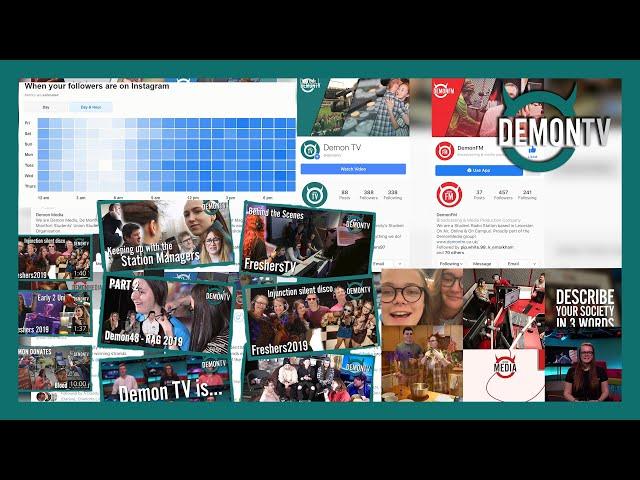 Demon TV's Marketing 2019/20