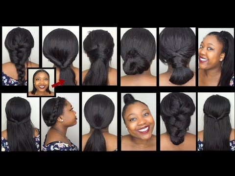 TWELVE 60 seconds Clip in Hairstyles Ft Lovrio Clip in VERSETILE thumbnail