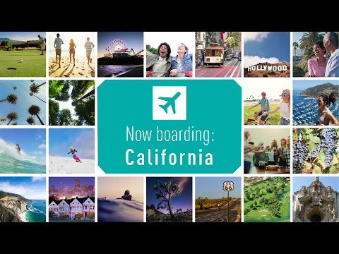 Now boarding: WestJet flights to California