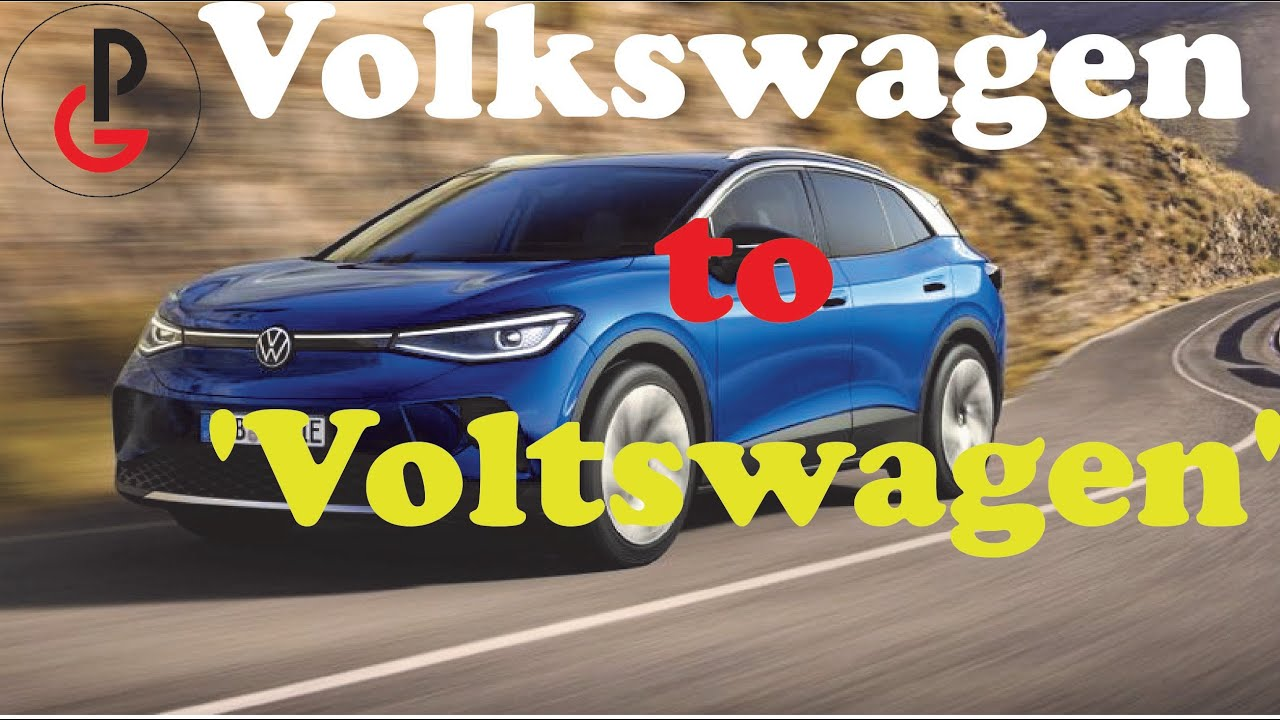 Volkswagen of America says it's changing its name to 'Voltswagen'
