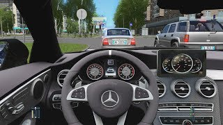 City Car Driving - Mercedes-Benz C63 AMG Coupe | Fast Driving