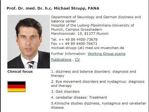 Neurologist Michael Strupp on Balance Disorders - 2011