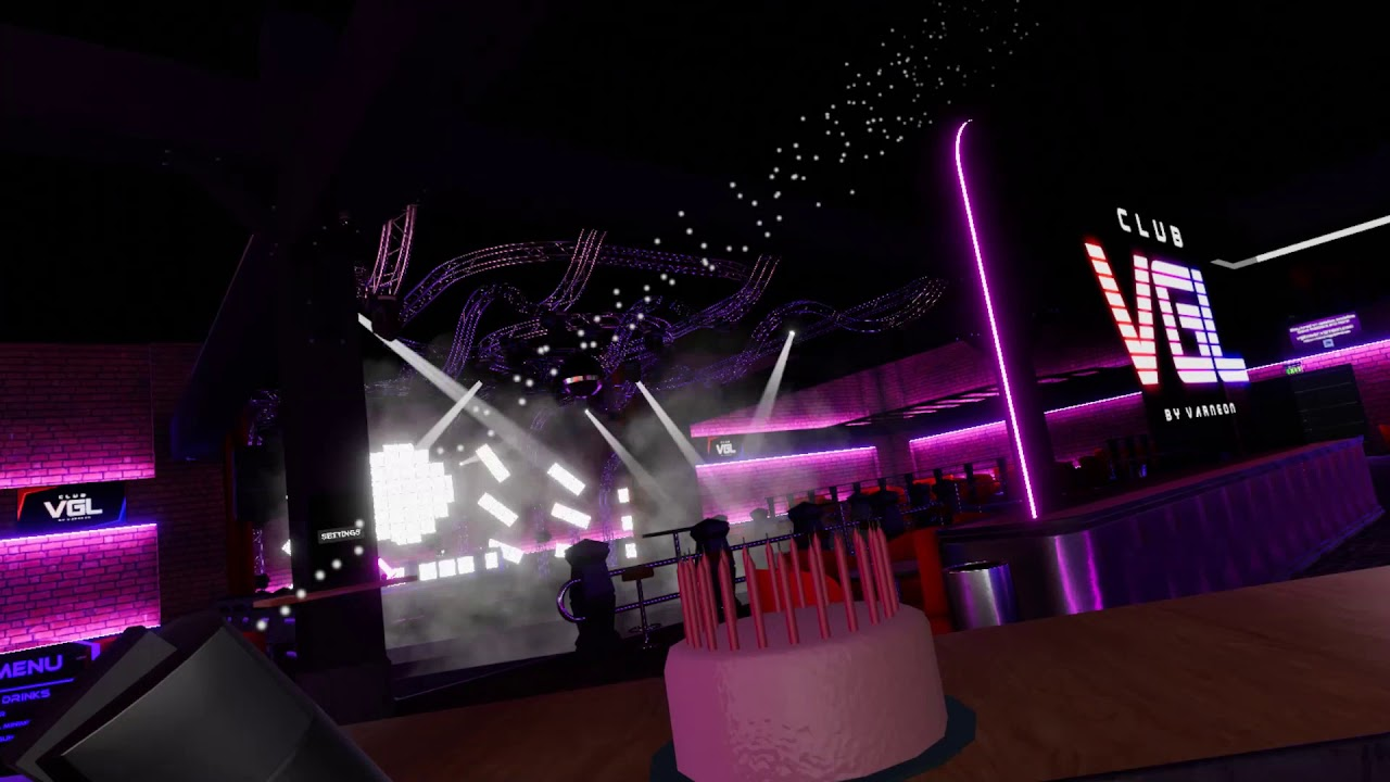 [VRChat] Club VGL Party Trick Demo - YouTube
