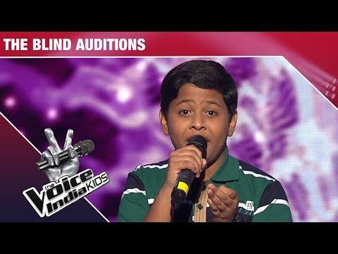 Supriyo Sinha Performs on Ae Meri Zohra Jabeen   The Voice India Kids   Episode 8