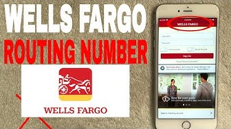 ✅  Wells Fargo Bank Routing Number - Where To Find It?  ?